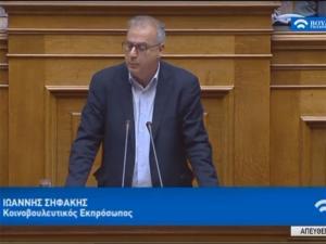 Ο Σηφάκης κοινοβουλευτικός εκπρόσωπος ΣΥΡΙΖΑ