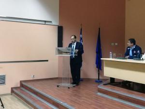 Ο Υπουργός Μεταφορών Χρήστος Σπίρτζης στα Γιαννιτσά
