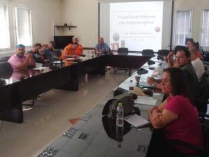 Εκπαιδευτική δράση πολιτικής προστασίας για ομάδες εθελοντών