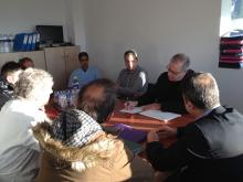 Ο βουλευτής Γ. Σηφάκης σε σύσκεψη στο νοσοκομείο Έδεσσας