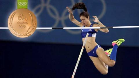 Κατερίνα Στεφανίδη, χρυσό μετάλλιο στο επί κοντώ