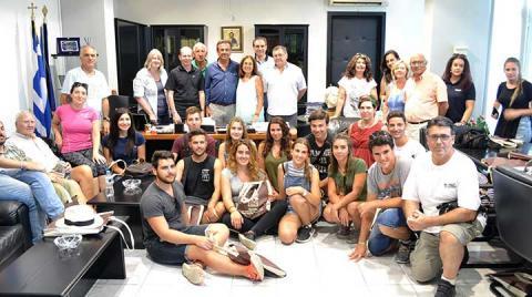 Εορτασμός των 10 χρόνων του Θερινού Σχολείου για τον Ελληνικό Πολιτισμό του Πανεπιστημίου Charles Darwin της Αυστραλίας στην Πέλλα