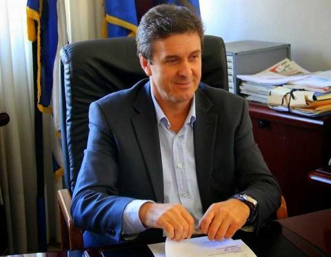 δήμαρχος Αλμωπίας Δημήτρης Μπίνος