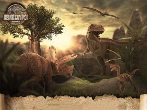 Γιγάντιοι δεινόσαυροι στη Θεσσαλονίκη