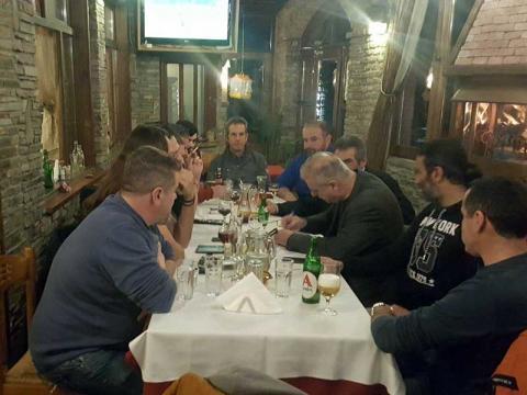 Συνάντηση Σηφάκη με φορείς στο Λουτράκι