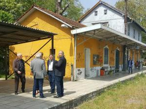 Αποκατάσταση σταθμού Ντεκοβίλ στην Σκύδρα