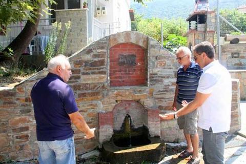 Ο δήμαρχος Αλωπίας Δ. Μπίνος στην Κωνσταντία
