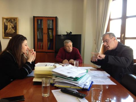 Ο βουλευτής Γ. Σηφάκης σε σύσκεψη στην 3η ΥΠΕ
