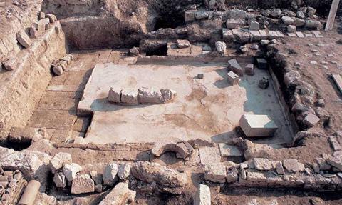 Ανάκτορο Μεγάλου Αλεξάνδρου, Αρχαία Πέλλα