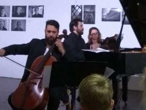 συναυλία με τσέλο και πιάνο