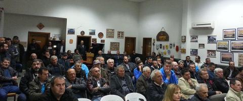 Aνοιχτή συνέλευση του μπλόκου Γυψοχωρίου-Τριφυλλίου
