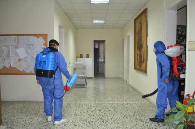 Αποτέλεσμα εικόνας για Συνέχιση προληπτικών απολυμάνσεων στο Δήμο Σκύδρας