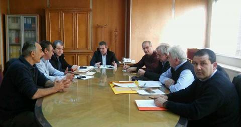συνάντηση του προεδρείου της «Πρωτοβουλίας αγροτών» με τον Υφυπουργό Εργασίας Τάσο Πετρόπουλο