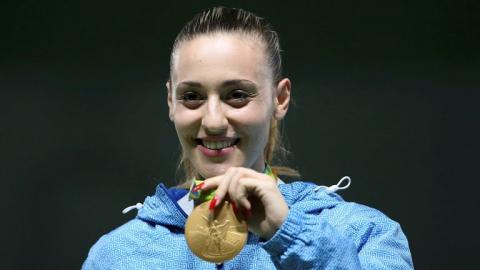 Άννα Κορακάκη, χρυσό μετάλλιο Ρίο 2016 σκοποβολή